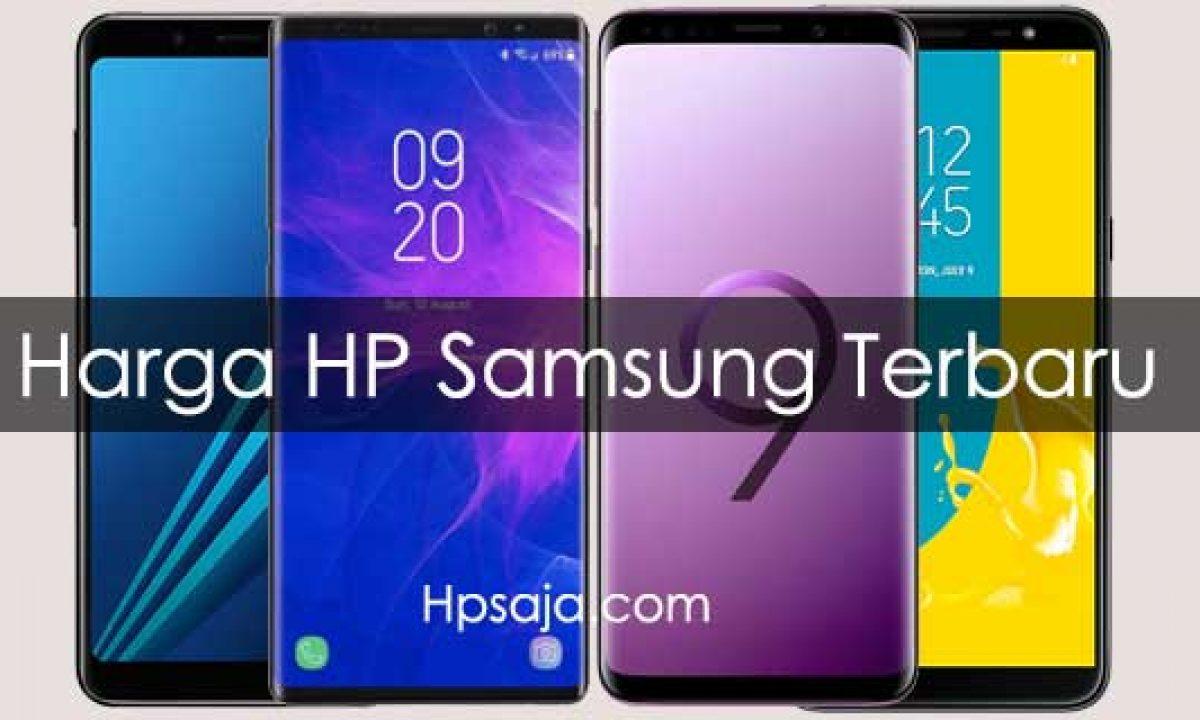 Daftar Harga Hp Samsung Dan Spesifikasi Terbaru November 2019