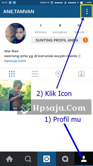 Matikan autoplay video instagram