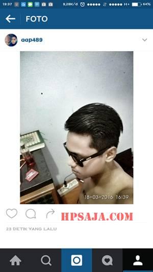 Upload foto instagram tanpa potong berhasil