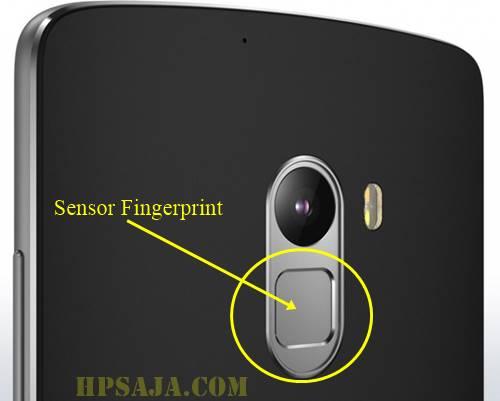 Letak fingerprint lenovo vibe k4 note