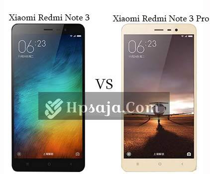 Beda xiaomi redmi note 3 VS redmi note 3 pro + Review & Skor antutu