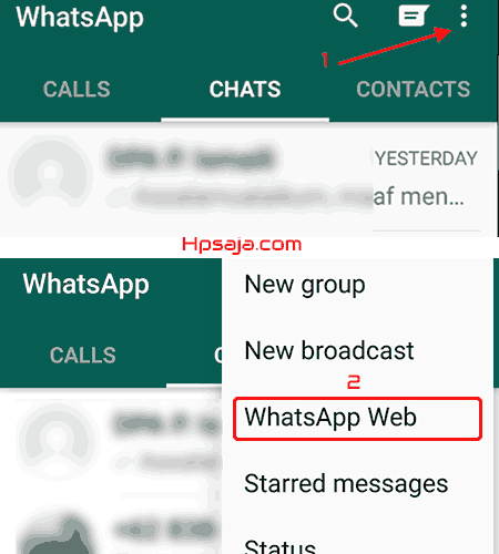 cara whatsapp pc laptop tanpa emulator