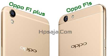 Beda kamera Oppo F1s vs f1 plus