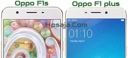 Beda Desain Oppo F1s vs f1 plus