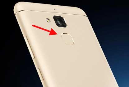 sensor fingerprint asus zenfone 3 max