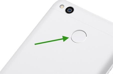 sensor fingerprint xiaomi redmi 3x