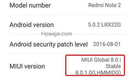 MIUI 8 jaringan 4G permanen