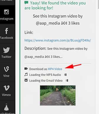berhasil download video instagram tanpa aplikasi