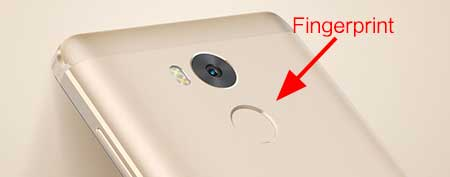 fingerprint xiaomi redmi 4 prime