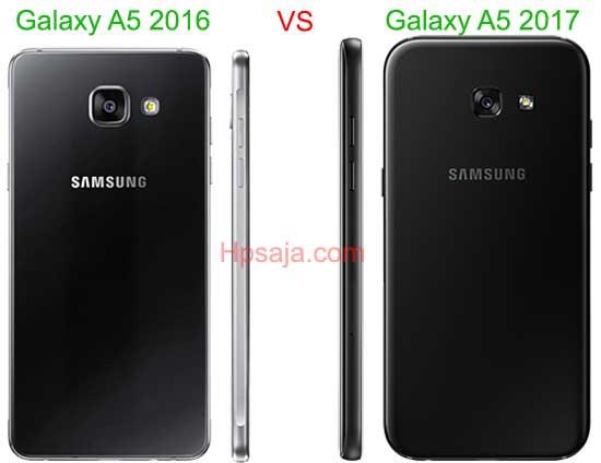 Galaxy A5 2016 VS A5 2017