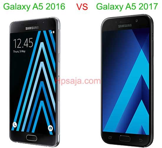 desain Galaxy A5 2016 VS A5 2017