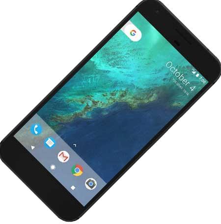 layar google pixel