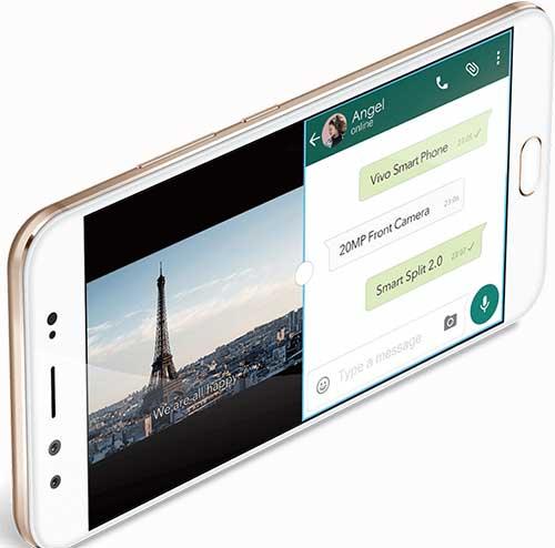 fitur smartslip Vivo V5 plus