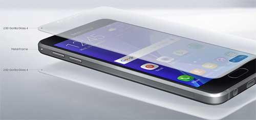 review desain dan layar galaxy A3 2016