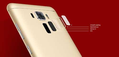 sensor fingerprint Asus zenfone 3 laser
