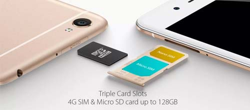 slot SD Card vivo y55