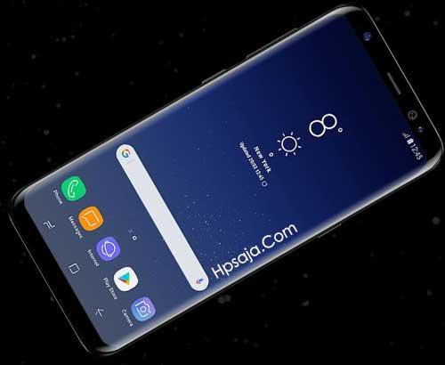 layar samsung galaxy S8 dan s8 plus