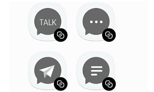 fitur dual messenger Samsung J5 pro 2017