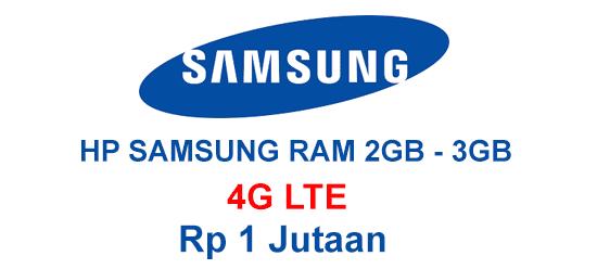 hp samsung RAM 2GB 4G 1 jutaan