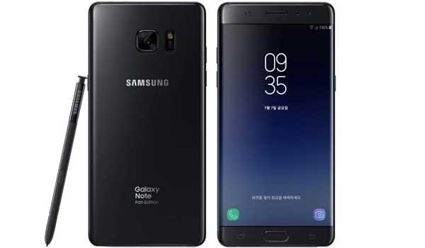 Samsung Galaxy Note Fan (FE)