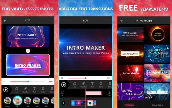 Intro Maker dan Video Editor