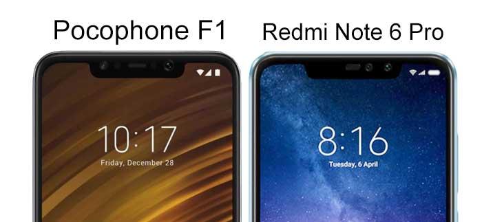 Desain Xiaomi Redmi Note 6 pro mirip