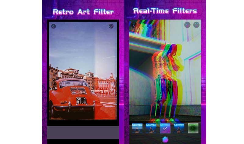 Glitchy : aplikasi edit foto keren