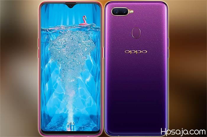 Spesifikasi Oppo F9 dan harganya