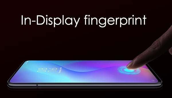 In-display fingerprint redmi k20