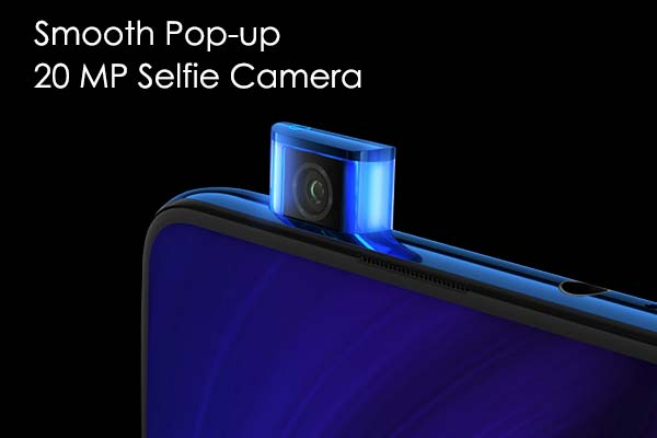 pop-up kamera selfie redmi k20