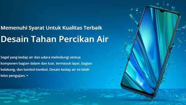 Realme 5 pro kedap air
