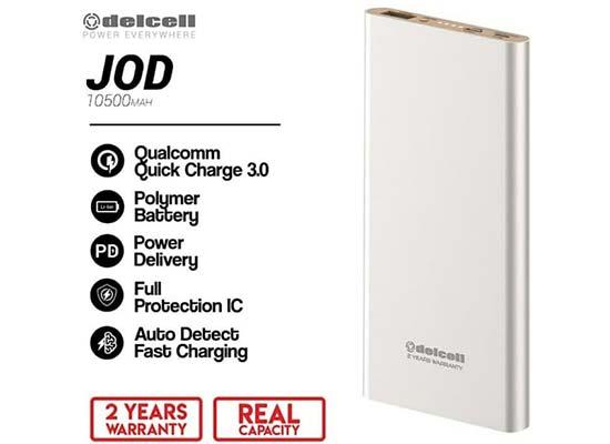 powerbank Delcell Jod 10.500 mAh