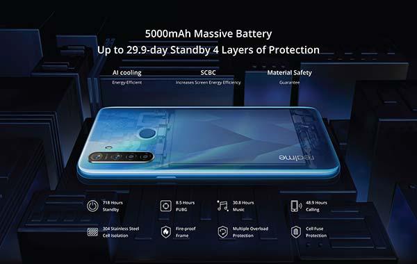 baterai RealMe 5s