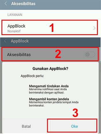 Blokir situs we chrome android sudah selesai