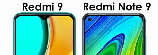 kamera depan redmi note 9 vs redmi 9
