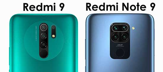 kamera redmi note 9 vs redmi 9