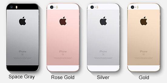 Pilihan Warna iPhone SE