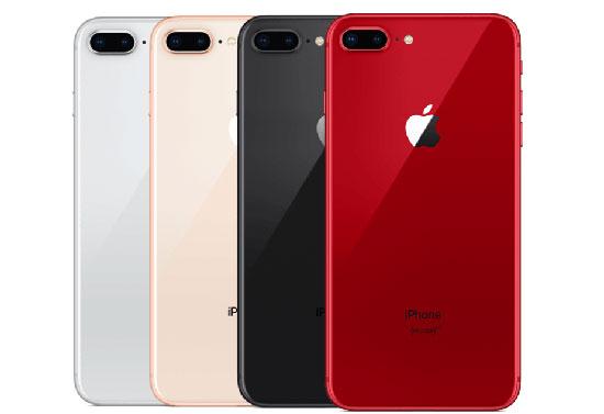 pilihan warna iPhone 8 plus