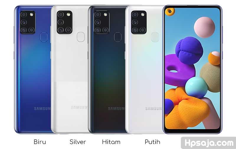 pilihan warna samsung galaxy A21s