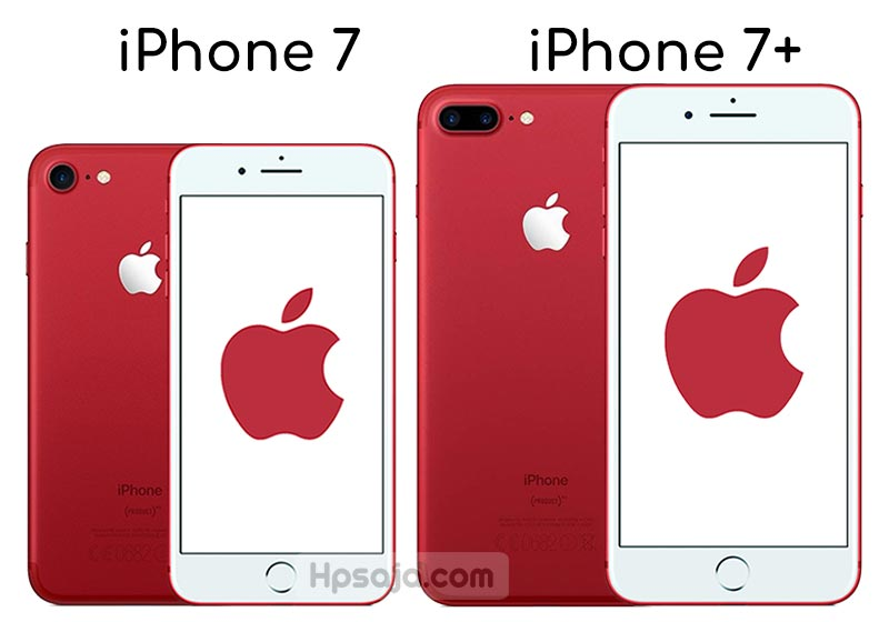 Perbedaan iPhone 7 vs iPhone 7 plus