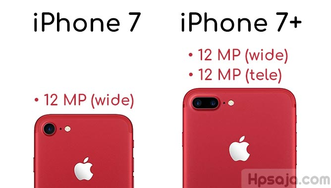 Perbandingan kamera iPhone 7 vs iPhone 7 Plus