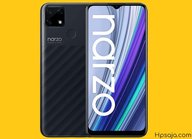 Realme Narzo 30A : Spesifikasi, harga, review kelebihan dan kekurangan