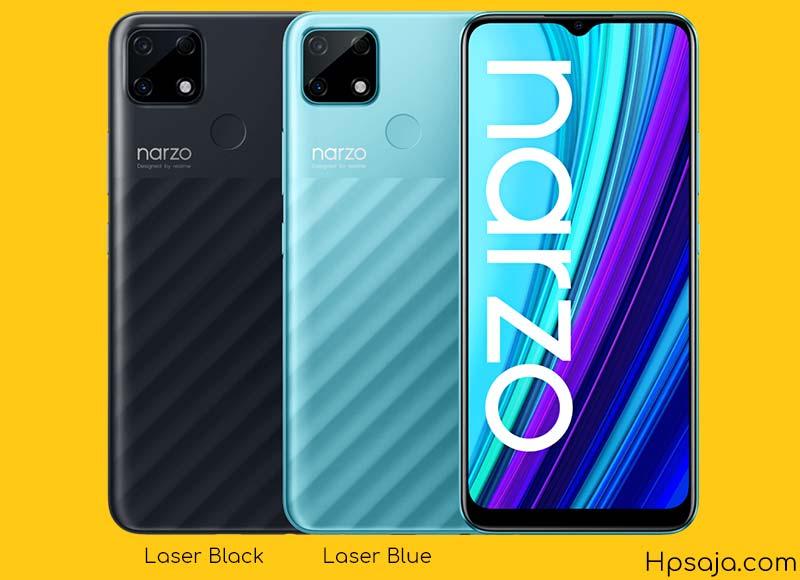 Varian warna Realme Narzo 30A indonesia