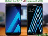 Perbedaan samsung Galaxy A5 2017 VS galaxy A5 2016
