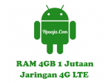 Hp Android RAM 4GB Murah dibawah 2 juta 4G LTE