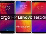 Daftar Harga HP Lenovo dan spesifikasi terbaru