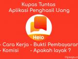 Benarkah aplikasi helo bisa menghasilkan uang ? begini caranya